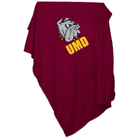 Minnesota Duluth Bulldogs NCAA Sweatshirt Blanket Throw