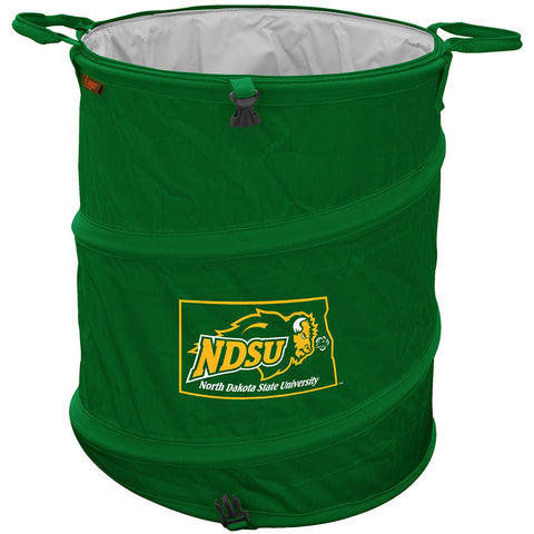 North Dakota State Bison NCAA Collapsible Trash Can