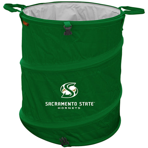 CS Sacramento Hornets NCAA Collapsible Trash Can