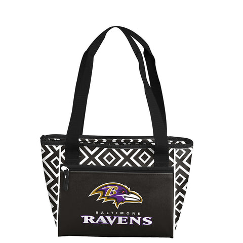 Baltimore Ravens NFL 16 Can Cooler Tote