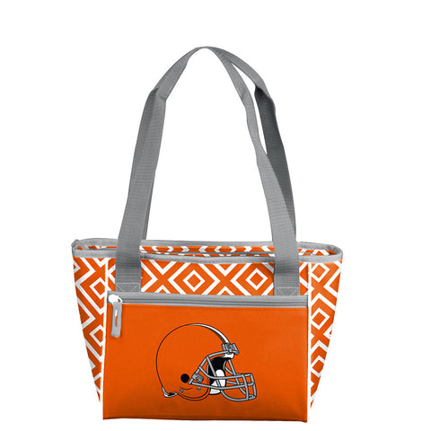 Cleveland Browns NFL 16 Can Cooler Tote