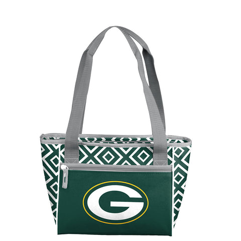Green Bay Packers NFL 16 Can Cooler Tote