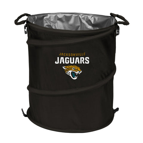 Jacksonville Jaguars NFL Collapsible Trash Can Cooler