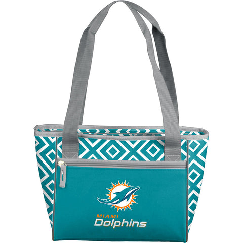 Miami Dolphins NFL 16 Can Cooler Tote