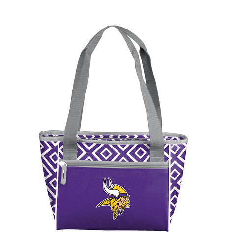 Minnesota Vikings NFL 16 Can Cooler Tote