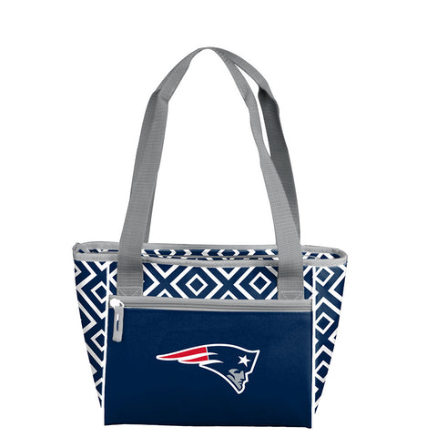 New England Patriots NFL 16 Can Cooler Tote