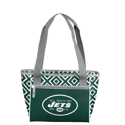 New York Jets NFL 16 Can Cooler Tote