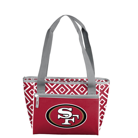 San Francisco 49ers NFL 16 Can Cooler Tote