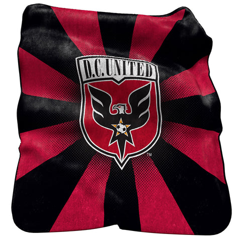 DC United MLS Raschel Throw