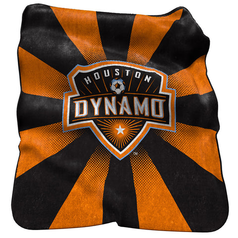 Houston Dynamo MLS Raschel Throw