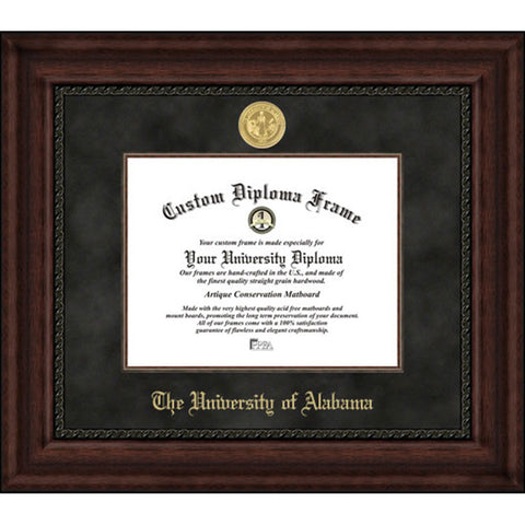 Alabama Crimson Executive Diploma Frame
