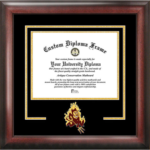 Arizona State University Spirit Diploma Frame