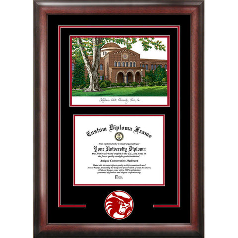 California State University, Chico Spirit Graduate Frame with Campus Image