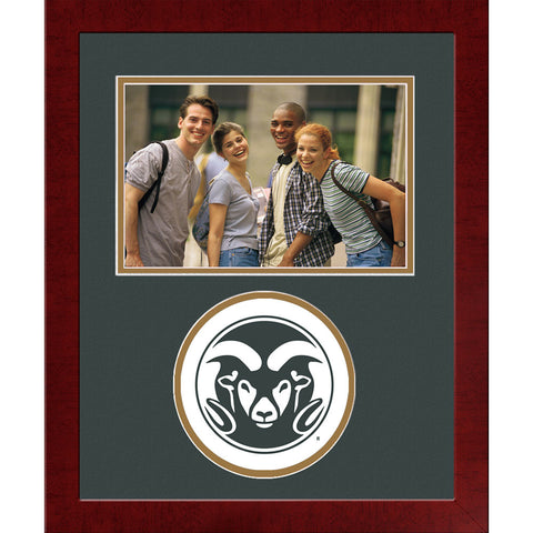 Colorado State University Spirit Photo Frame Horizontal
