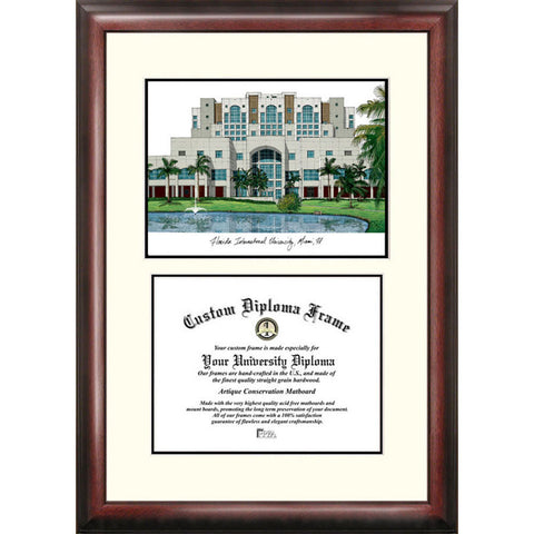 Florida International University Scholar Diploma Frame
