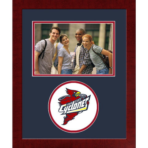 Iowa State University Spirit Photo Frame Horizontal