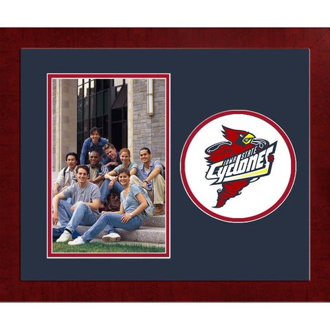Iowa State University Spirit Photo Frame Vertical