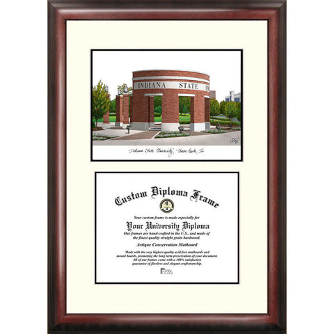 Indiana State Scholar Diploma Frame