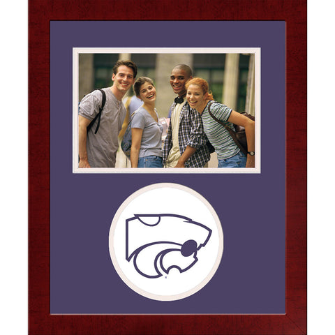 Kansas State University Spirit Photo Frame Horizontal