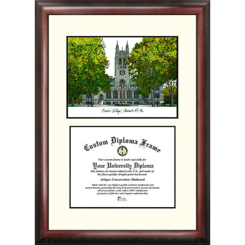 Boston College Scholar Diploma Frame
