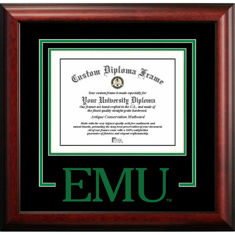 Eastern Michigan University Spirit Diploma Frame