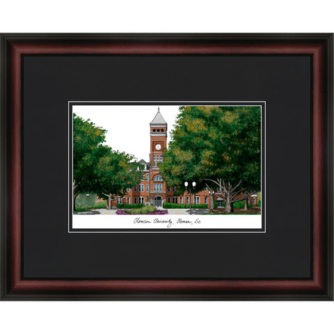 Clemson University Academic Framed Lithograph