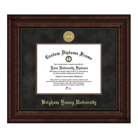 Brigham Young University Executive Diploma Frame