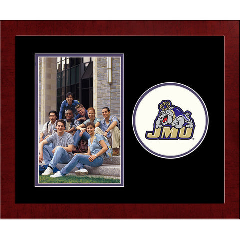 James Madison University Spirit Photo Frame Vertical