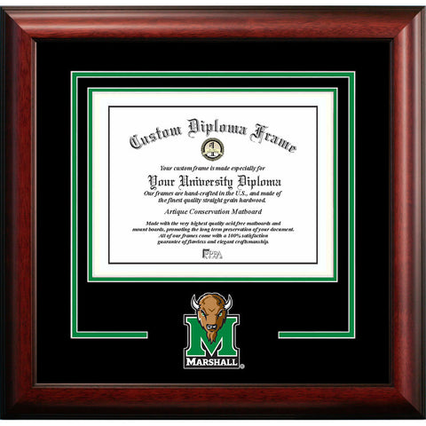 Marshall University Spirit Diploma Frame