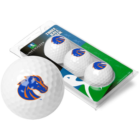 Boise State Broncos NCAA 3 Golf Ball Sleeve Pack