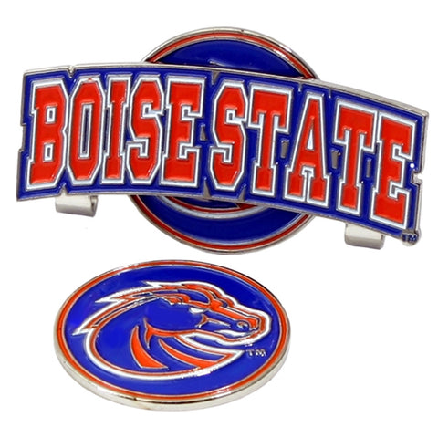 Boise State Broncos NCAA Hat Clip w/ Golf Ball Marker