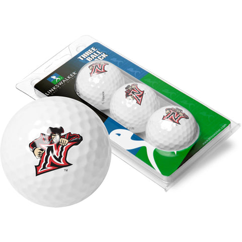 Call State Northridge Matadors NCAA 3 Golf Ball Sleeve Pack