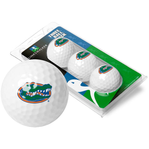 Florida Gators NCAA 3 Golf Ball Sleeve Pack