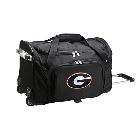 Georgia Bulldogs NCAA 22 inch Wheeled Duffel