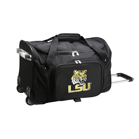 LSU Tigers NCAA 22 inch Wheeled Duffel