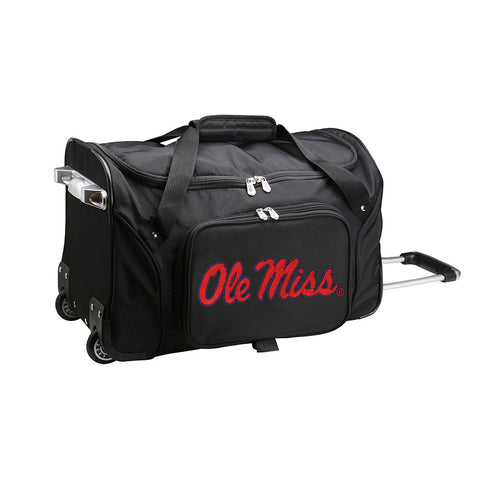 Mississippi Rebels NCAA 22 inch Wheeled Duffel
