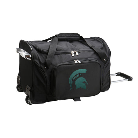 Michigan State Spartans NCAA 22 inch Wheeled Duffel