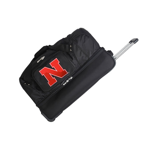 Nebraska Cornhuskers NCAA 27 inch Drop Bottom Duffel