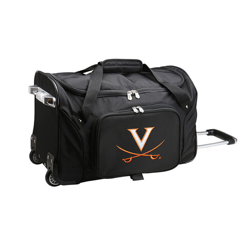 Virginia Cavaliers NCAA 22 inch Wheeled Duffel