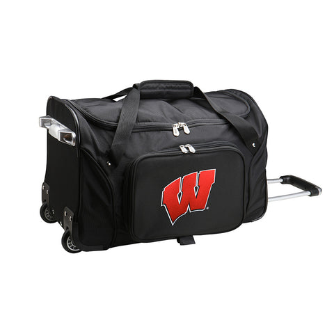 Wisconsin Badgers NCAA 22 inch Wheeled Duffel