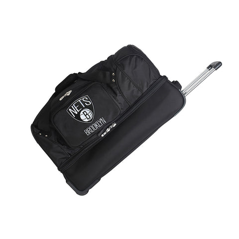 Brooklyn Nets NBA 27 inch Drop Bottom Duffel