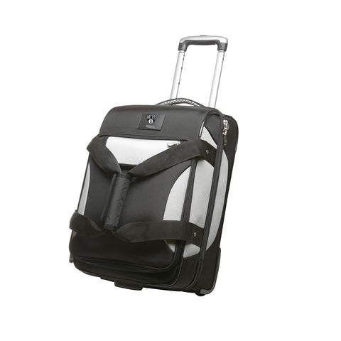 Brooklyn Nets NBA Drop Bottom Rolling Carry On Travel Bag