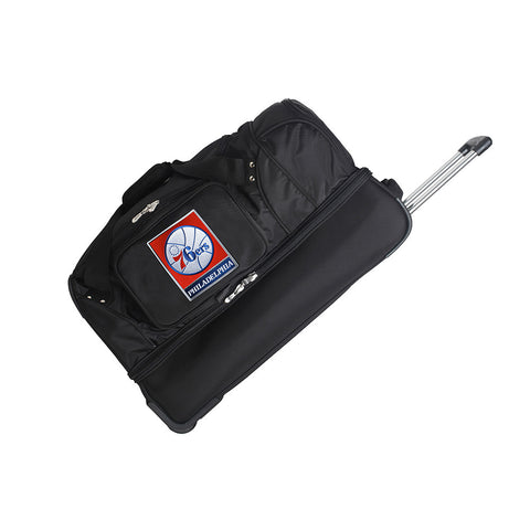 Philadelphia 76ers NBA 27 inch Drop Bottom Duffel
