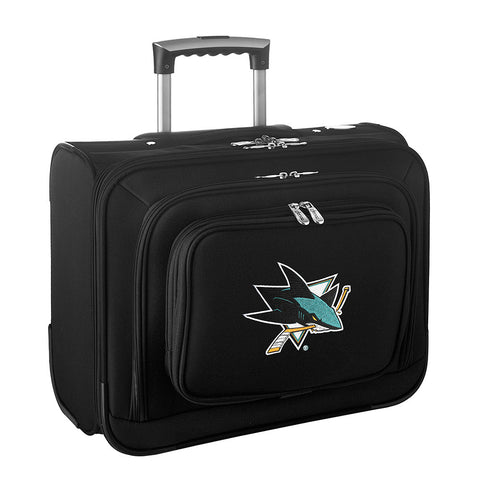 San Jose Sharks NHL Wheeled Laptop Overnighter