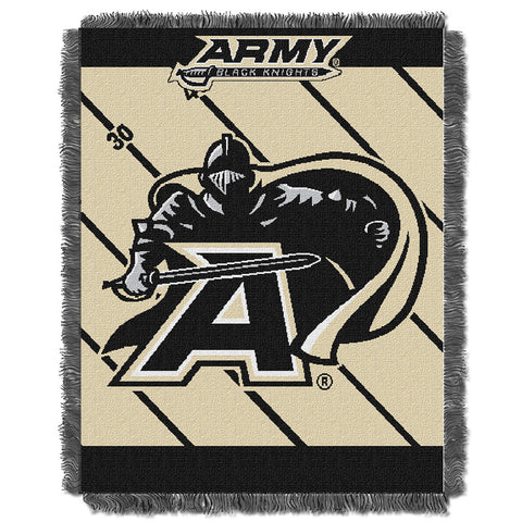 Army Black Knights NCAA Triple Woven Jacquard Throw Fullback Baby Series 36x48