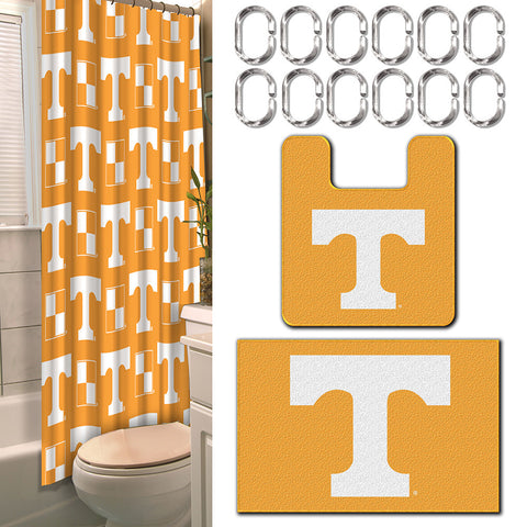 Tennessee Volunteers NCAA 15 Piece Bath Set