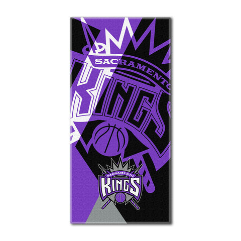 Sacramento Kings NBA ?Puzzle? Over sized Beach Towel 34in x 72in