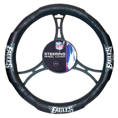 Philadelphia Eagles NFL Steering Wheel Cover 14.5 to 15.5