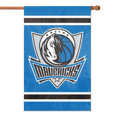 Dallas Mavericks NBA Appliqué Banner Flag