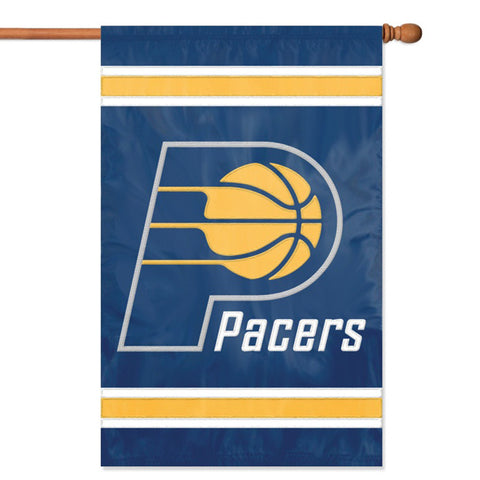 Indiana Pacers NBA Applique Banner Flag 44x28